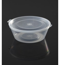 HINGED LID SAUCE CONTAINER PP 120ml/50pcs