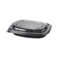 MICROWAVE CONTAINER BLACK 400cc COOK