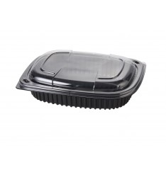 MICROWAVE CONTAINER BLACK 800cc COOK