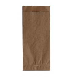 BROWN KRAFT PAPER BAGS UNPRINTED SIZE 9x22