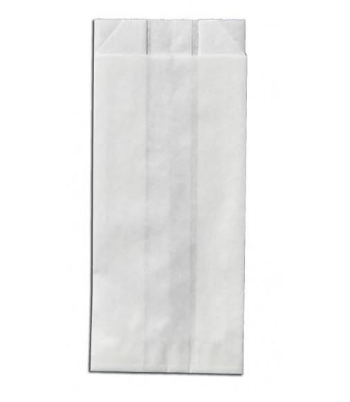 WHITE KRAFT PAPER BAGS UNPRINTED SIZE 7x19