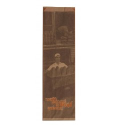 BROWN KRAFT PAPER BAKERY BAGS GENERAL PRINT SIZE 12x27