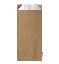 BROWN KRAFT PAPER ALUMINUM FOIL LINED BAGS SIZE 9x22