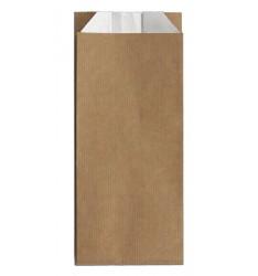 BROWN KRAFT PAPER ALUMINUM FOIL LINED BAGS SIZE 10x27