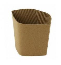 Δαχτυλίδι Για Χάρτινο Ποτήρι 8oz-10oz Καφέ