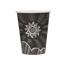 Single wall paper cup SUN 12oz/50pcs