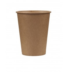 Single Wall Kraft Paper Cup Brown 8oz/50pcs