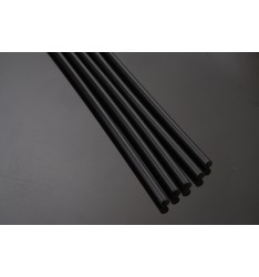 STRAIGHT STRAW FREDDO 24cm/BLACK/1000pcs