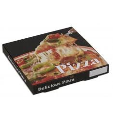PIZZA BOX 28Χ28Χ3,5 DELICIOUS (Νο 2)
