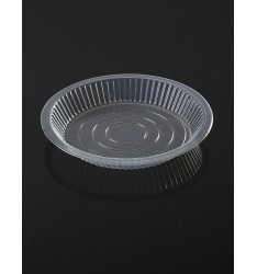 LID FOR ALUMINIUM CONTAINERS TRANSPARENT Νο801/100pcs (LOW)