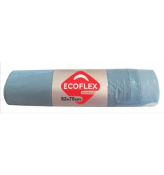 GARBAGE BAG CORD BLUE 52Χ75/ROLL10PCS(ΑΚ7)