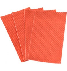 MEAT PAD 801 300X400 RED/300pcs