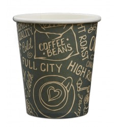 SINGLE WALL PAPER CUP (GREEN) 8oz/50pcs