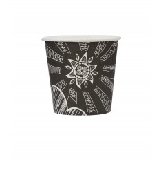 Single wall paper cup SUN 4oz/50pcs