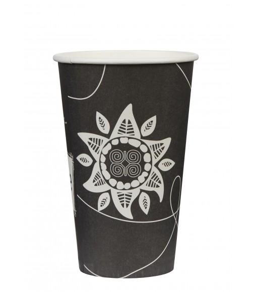 Single wall paper cup SUN 16oz/50pcs