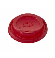 Red Traveler Lid To Fit 12-16oz Paper Cups
